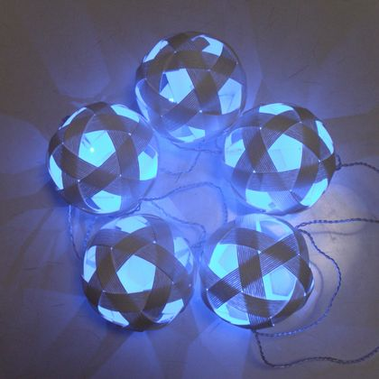 PaperBalls & LED light