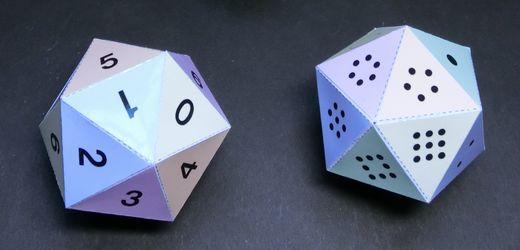 Icosahedron Dice