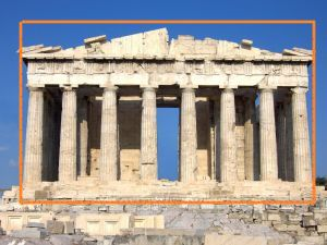 Parthenon Golden Retio