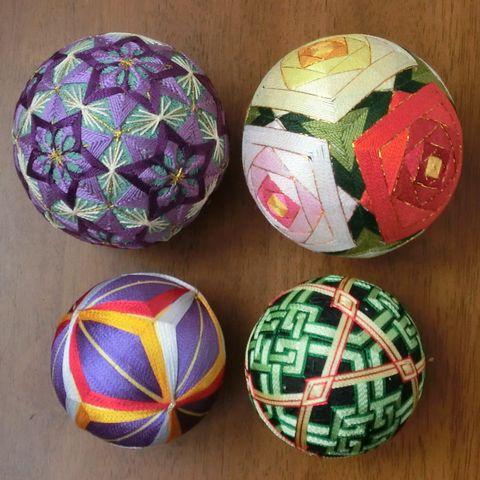 Polyhedra Temari