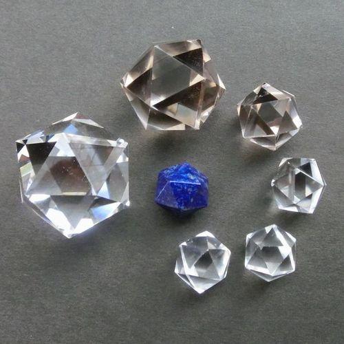 Quartz Icosahedrons