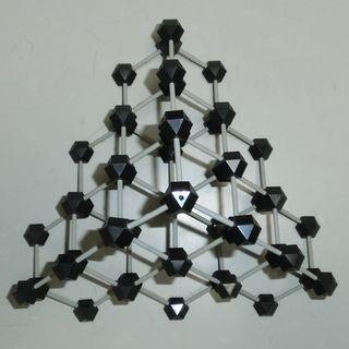Moleclarmodeldiamondtetrahedron
