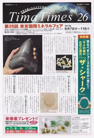 Tima Times, Mineral Fair 2013 Shinjyuku