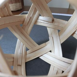 Bamboo SepakTakrawBall inside
