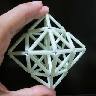 ヒンメリ…ストロー正8面体×6複合体c