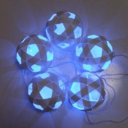 PaperBalls & LED light