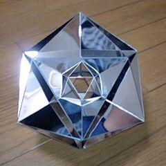 錐体鏡を20個貼り合わせ