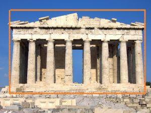 Parthenon Golden Retio