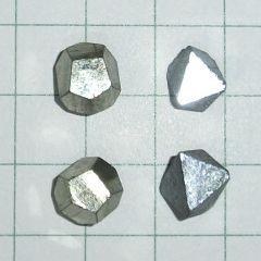 iron pyrites, magnetite