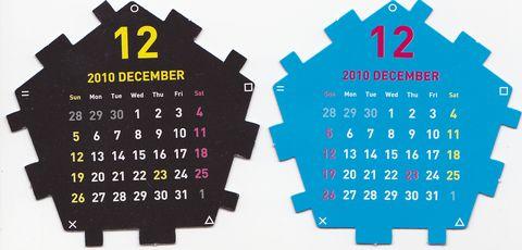 Dodecahedron Calendar Part2