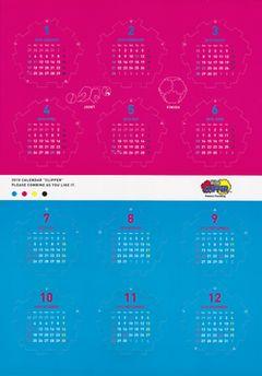 Dodecahedron Calendar M,C