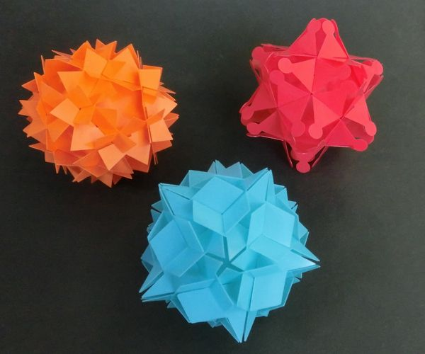 Small stellated dodecahedron puzzle