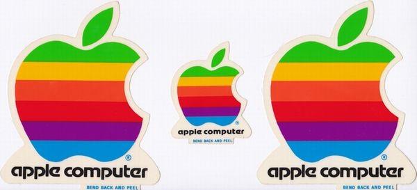 Apple Computer rainbow logo