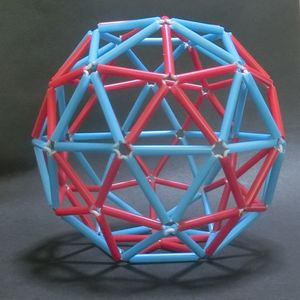 ジオデシックボール(ストロー80面体)の作り方: 正多面体クラブ